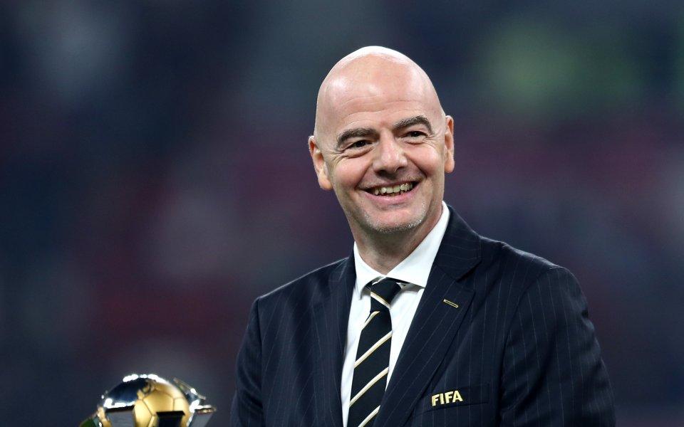 ФИФА: Инфантино остава президент независимо от разследването срещу него