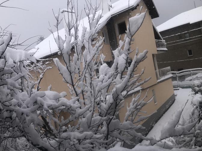 сняг време прогноза