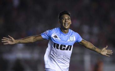 Милан се интересува от полузащитник на аржентинския Расинг