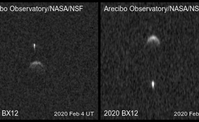 Астероид със собствена луна е преминал покрай Земята