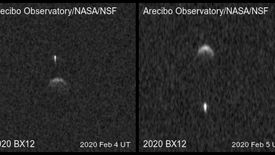 Астероидът 2020 BX12 и неговата луна