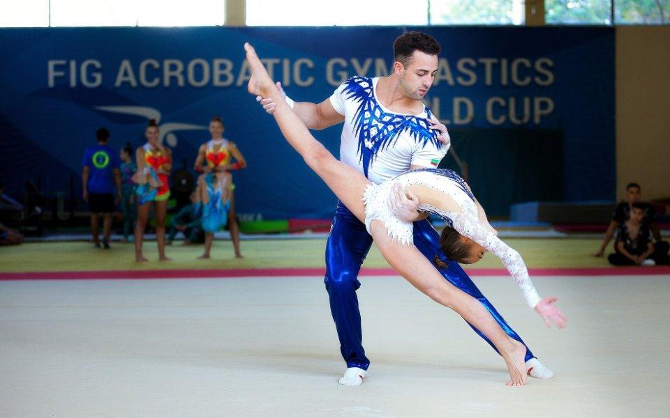 Световни и европейски шампиони идват на световната купа по акробатика в София
