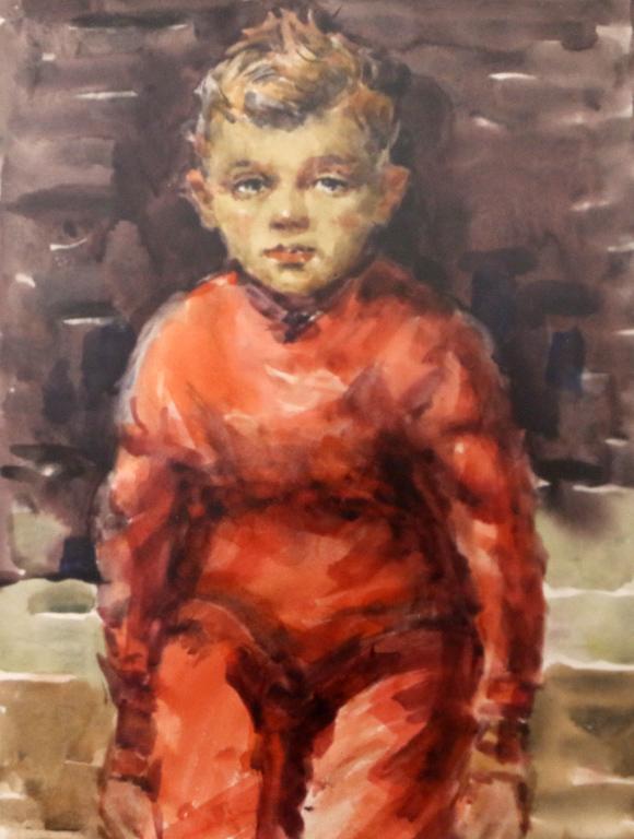 <p>Портрет на момче 1962 г.</p>