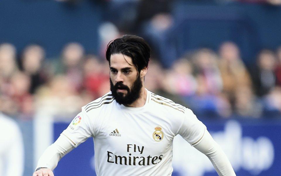 Атакуващият полузащитник на Реал Мадрид Иско отказа да премине в