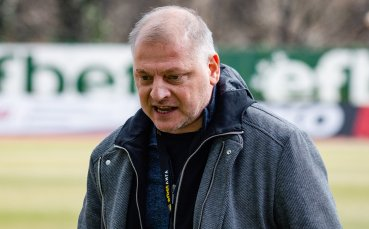 Петко Петков за мача с Лудогорец: Не си правим илюзии, но съм оптимист