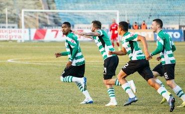Жестока битка между пет тима в efbet Лига