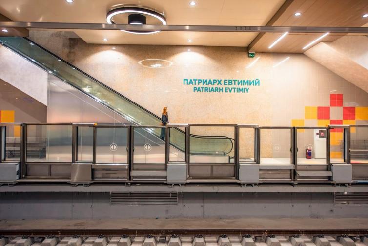 новите станции метрото Патриарх Евтимий НДК Медицински университет