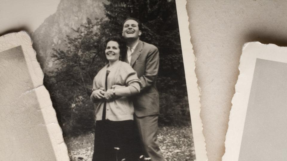 двойка стара снимка винтидж