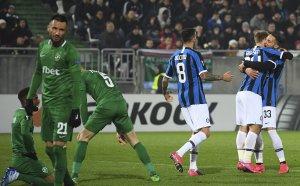 Всесилен Интер прекърши Лудогорец в първия мач за ЛЕ
