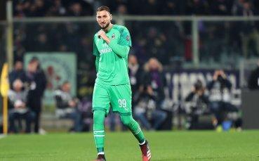 Вратарят на Милан аут за срещата с Дженоа