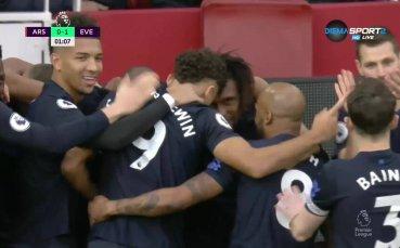 Фамозен гол падна във вратата на Арсенал