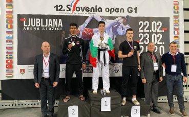Националите по таекуондо спечелиха 15 медала на Словения Оупън