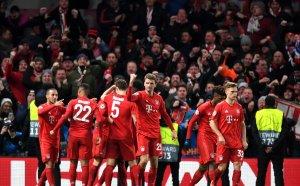 Байерн разкъса Челси за едно полувреме и обезсмисли реванша