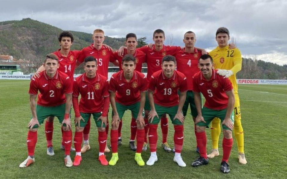 България U17 загуби от Септември U19 в контрола
