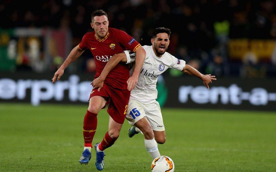 Рома си тръгна доволен от Белгия и продължава напред