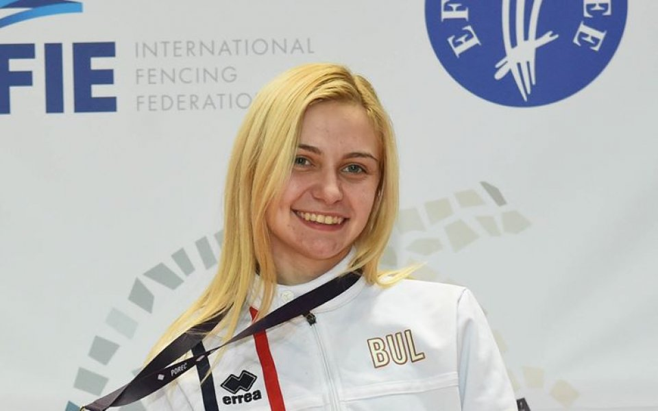 Йоана Илиева е новата европейска шампионка на сабя при жените