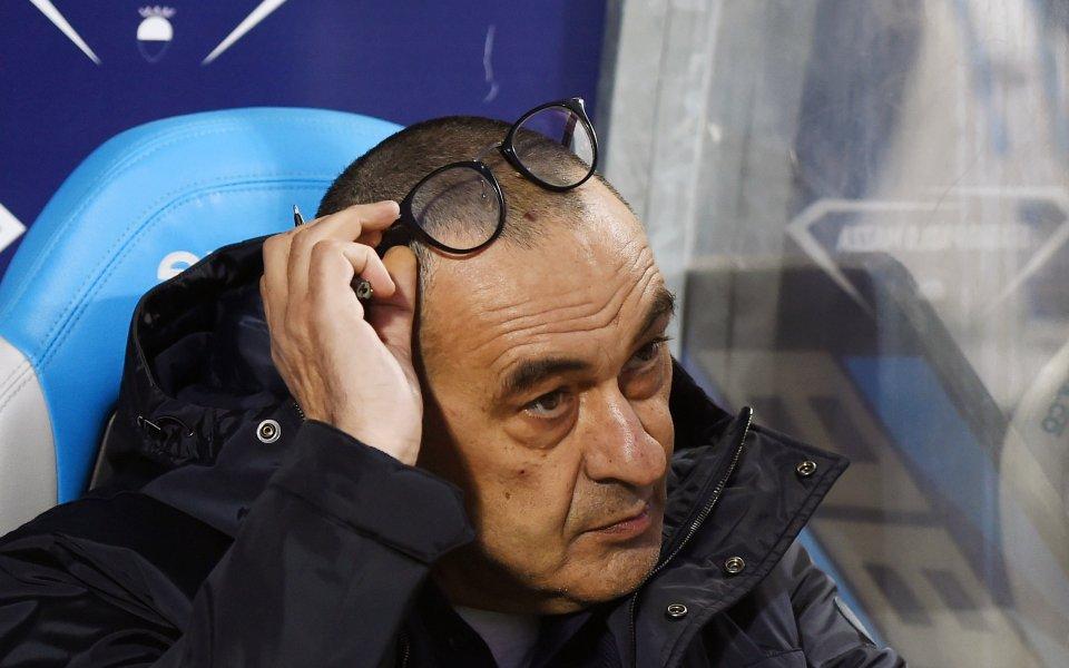 Ръководството на Ювентус обмисля да освободи треньора Маурицио Сари, ако