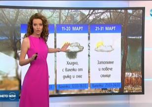 Прогноза за времето (29.02.2020 - обедна емисия)