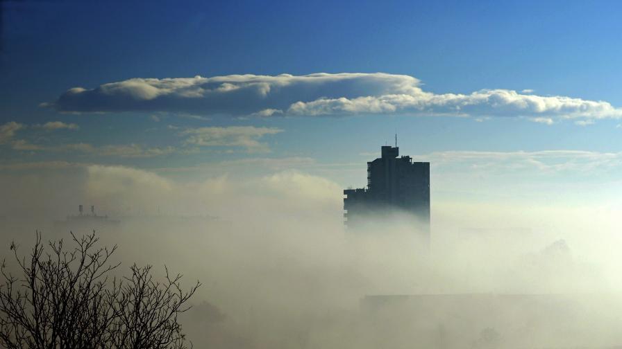 Въздухът в Скопие бил толкова замърсен, че не трябва да се излиза навън