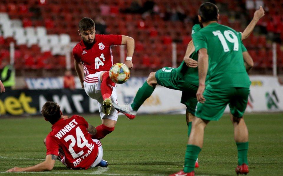 ЦСКА ще изиграе първият си мач след дългата пауза, причинена