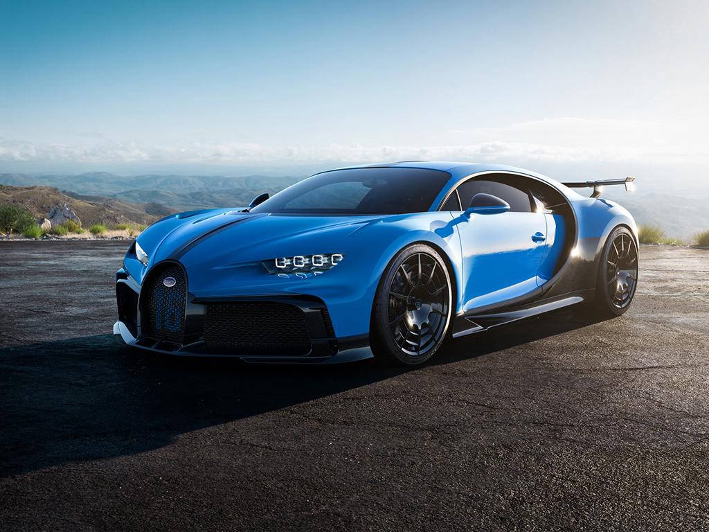 <p>Bugatti Chiron Pur Sport</p>