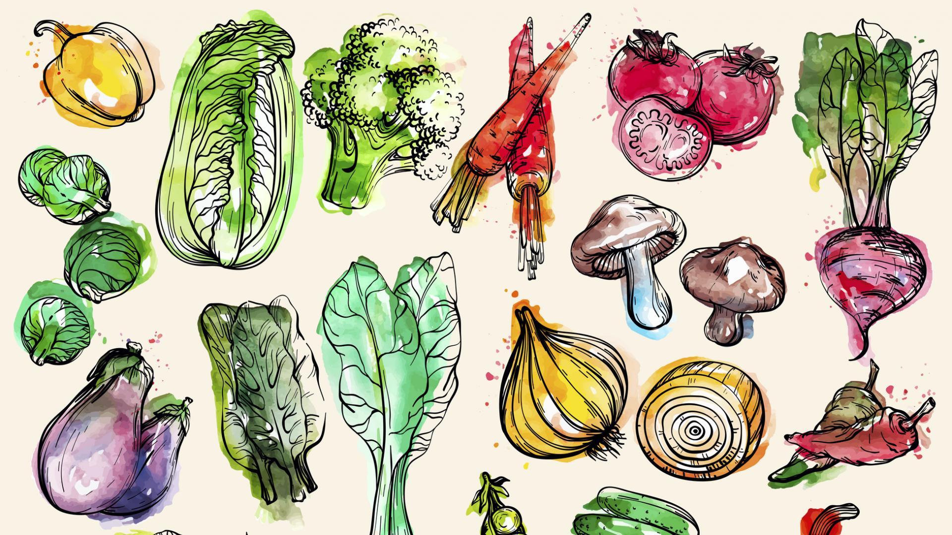 зеленчуци пролет храна
