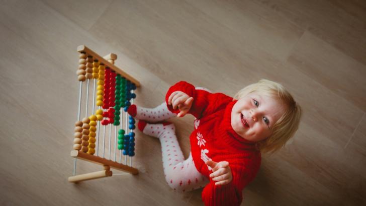 Как да научим 3-годишното дете да брои?