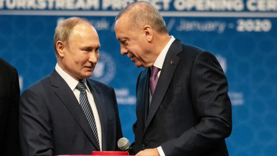 Ердоган преди разговора с Путин: Целият свят гледа нас