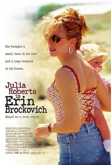 <p><strong>1. &bdquo;Ерин Брокович&ldquo;</strong> <strong>(2000)</strong> &ndash; Джулия Робъртс печели &bdquo;Оскар&ldquo; за главна женска роля във филма на Стивън Содърбърг, който ни представя и именития си режисьор в зенита на своята забележителна кариера. Същата година Содърбърг печели &bdquo;Оскар&ldquo; за най-добър филм с &bdquo;Трафик&ldquo;, а година по-късно бележи и страхотен комерсиален успех с &bdquo;Бандата на Оушън&ldquo;. Но истинската история на обикновена жена, която побеждава в съдебна битка огромна електроснабдителна корпорация, разказана през безпогрешното представяне на Робъртс, е тази, която си струва да гледате на 8 март.</p>