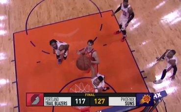 Най-добрите моменти от НБА през изминалата нощ