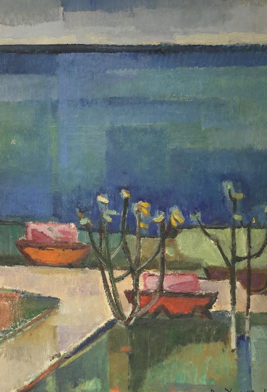 <p>Ванко Урумов</p>  <p>Пейзаж, 1968 маслени бои, дъска</p>