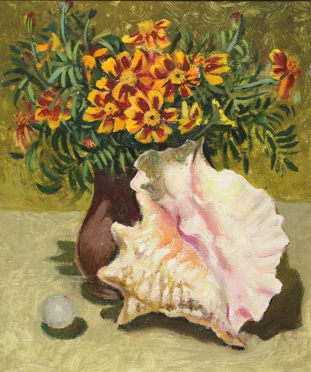 <p>Христо Симеонов</p>  <p>Натюрморт, ок. 2000 маслени бои, картон</p>