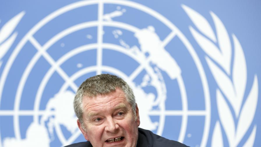 На снимката: експертът на Световната здравна организация (СЗО) по извънредните ситуации Майк Райън