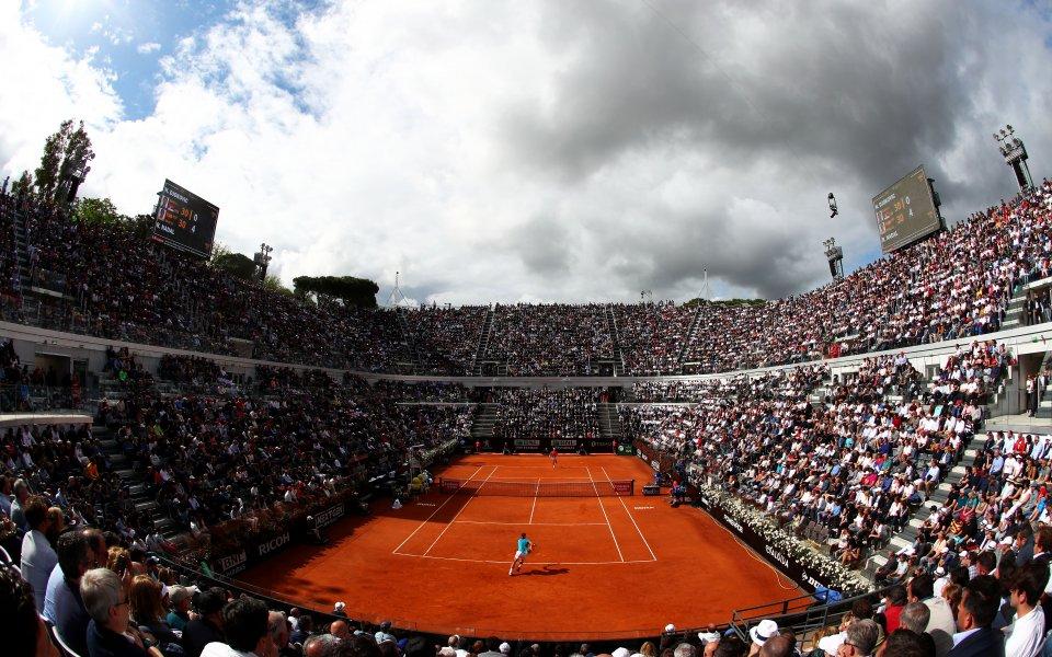 Италианската тенис федерация се надява да премести турнира в Рим