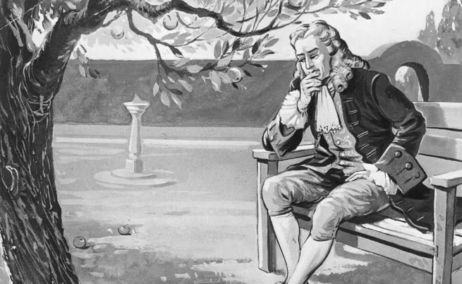 Нютон прави велико откритие по време на социална изолация