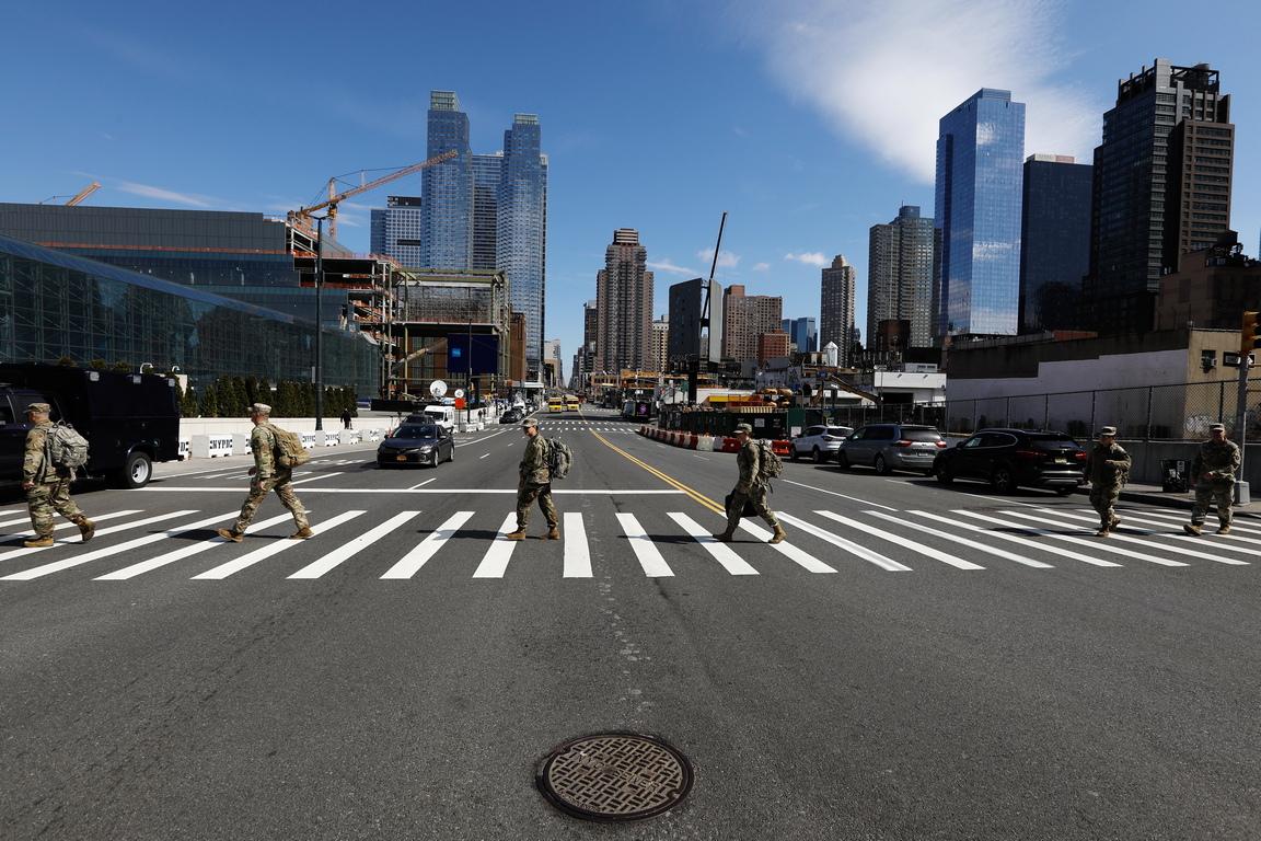 Около една четвърт от тях са установени в Ню Йорк, най-силно засегнатият регион в страната