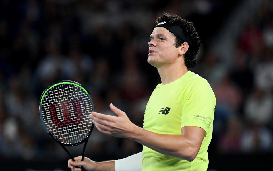 Бившият номер 3 в световния мъжки тенис Милош Раонич, разказа