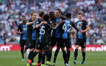 Късен гол донесе победата на Брюж в Санкт Петербург