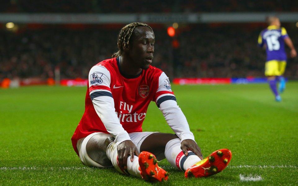 Бившият десен бек на Арсенал Бакари Саня се усъмни в