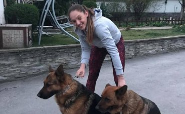 Граф и Тара - кучетата на Доби Христоскова
