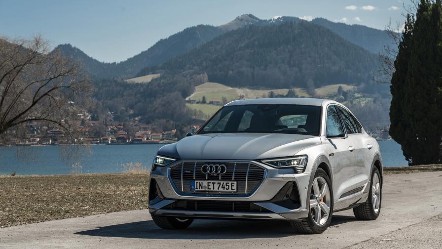 Audi E-Tron Sportback излиза на пазара с до 445 км пробег