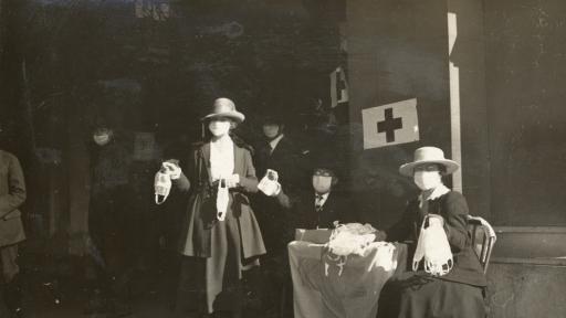 Как е изглеждала пандемията от испански грип в САЩ