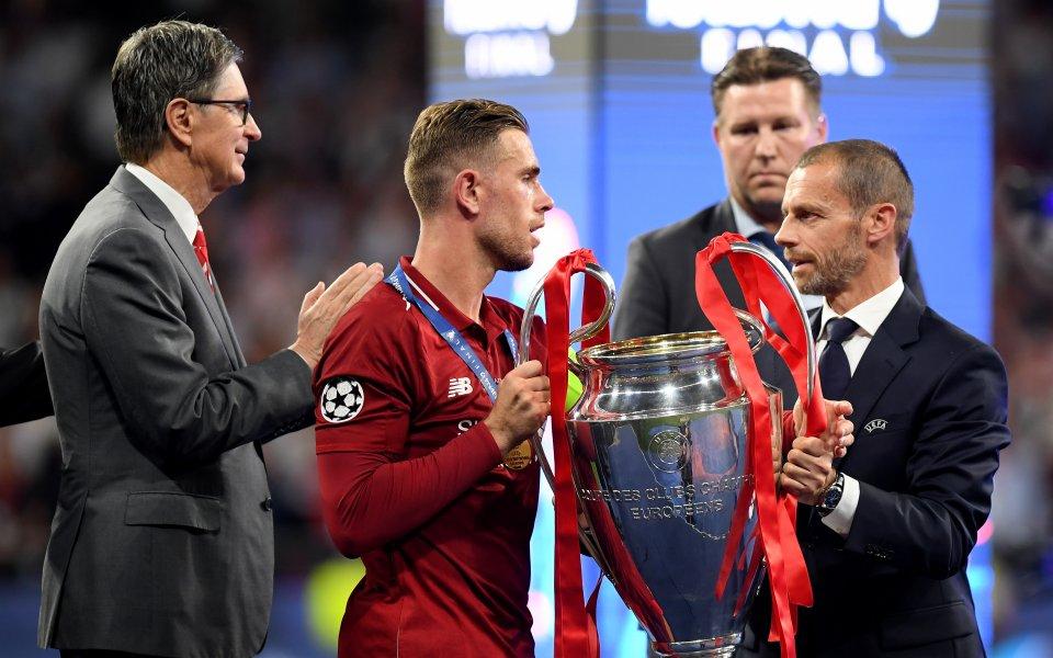 Шампионската лига и Лига Европа може да не бъдат завършени,