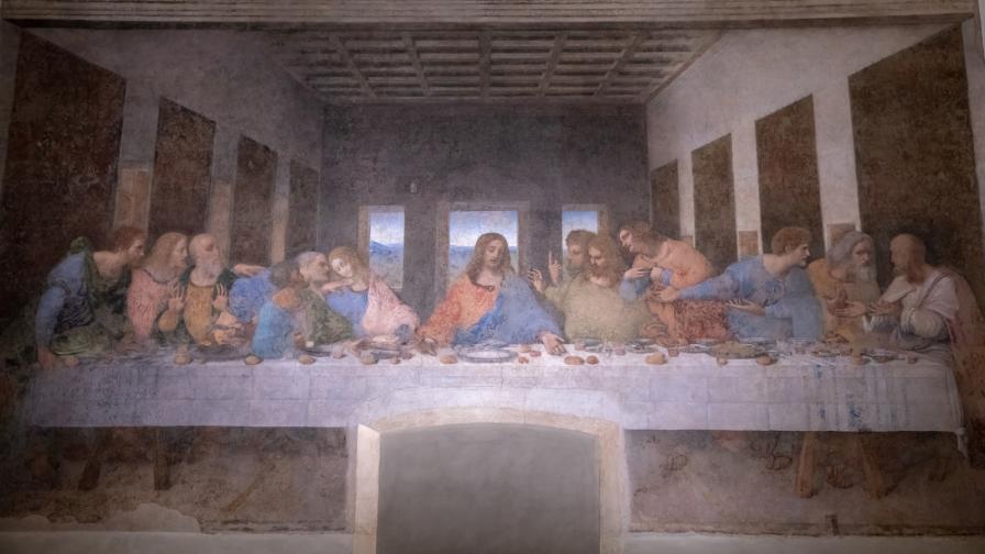 """""""Тайната вечеря"""" на Леонардо"""