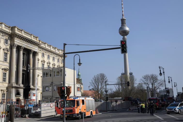 пожар берлин