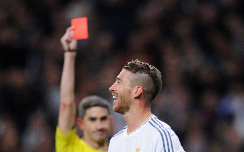 Защитникът на Реал Мадрид Серхио Рамос отново е с контузия,