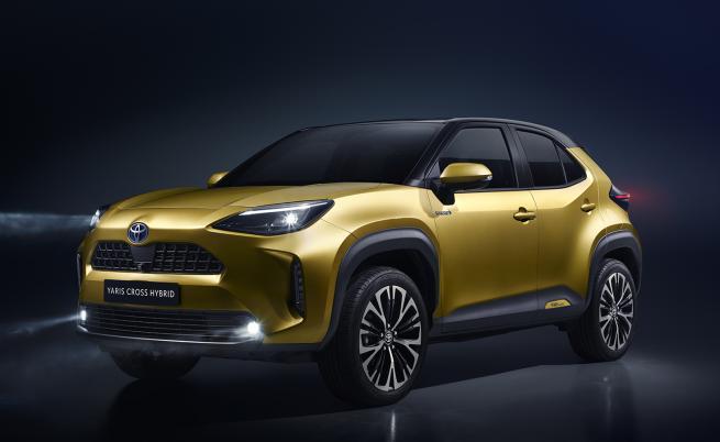 Toyota планира по 150 000 продажби на хибридния Yaris Cross