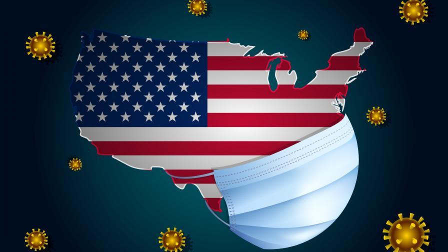 Скок на починалите с коронавирус в САЩ