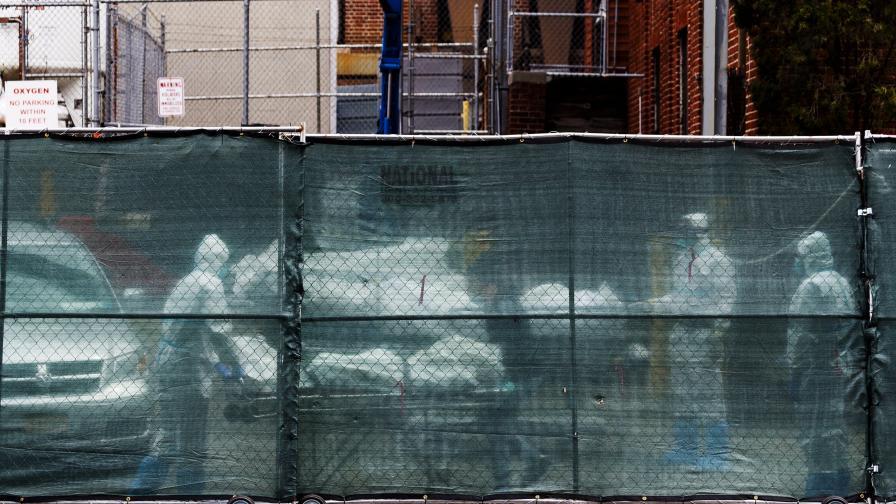Ужас в Бруклин, 100 човешки тела в камиони