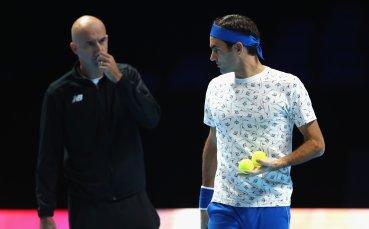 Федерер: За момента не виждам причина да тренирам